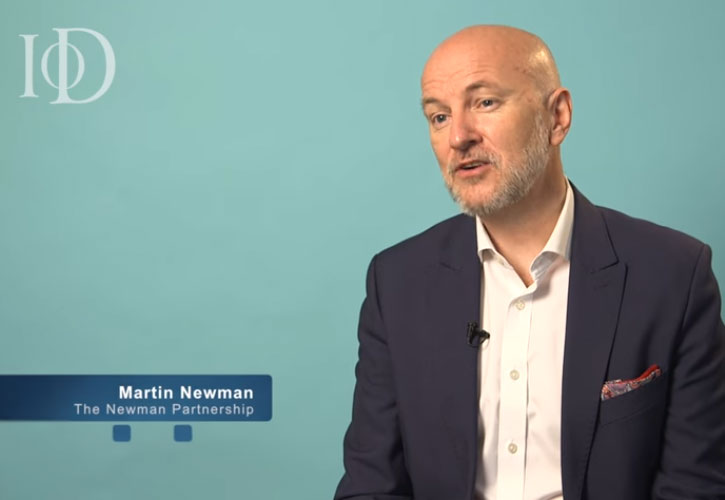 Martin Newman's interview with the IOD on <br>how to give the perfect speech